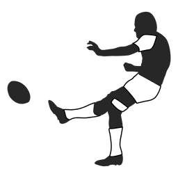 American football player kicking 2
