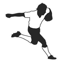 American football player running 2