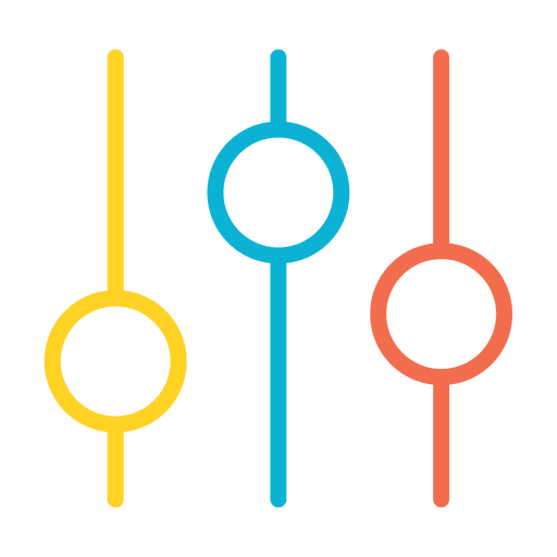 Analytics graph icon Transparent PNG