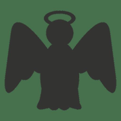 Silhueta De Icone De Anjo Baixar Png Svg Transparente
