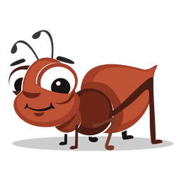 de dibujos animados hormiga