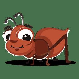 Desenhos animados formiga