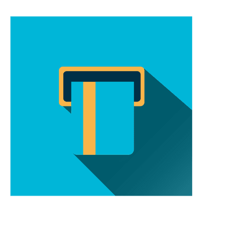 Atm card square icon Transparent PNG