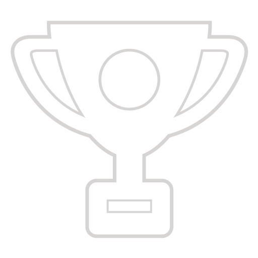 Award trophy icon Transparent PNG