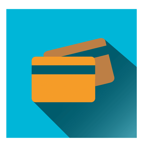 Bank cards square icon Transparent PNG