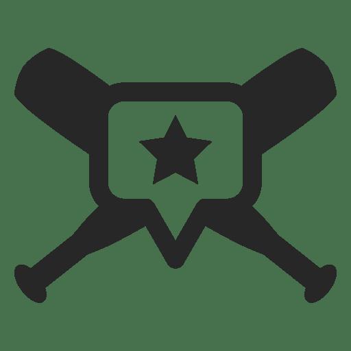 Download Baseball bats label - Transparent PNG & SVG vector file