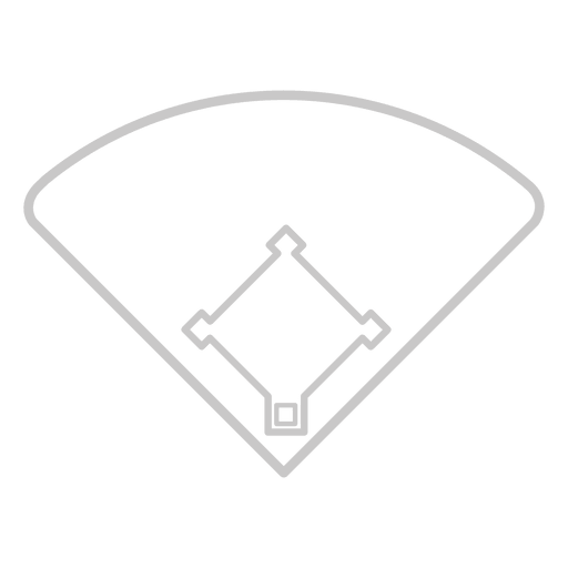 Baseball court icon Transparent PNG