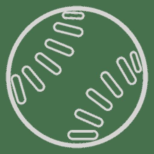 Icono de beisbol Transparent PNG