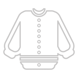Baseball outline jersey
