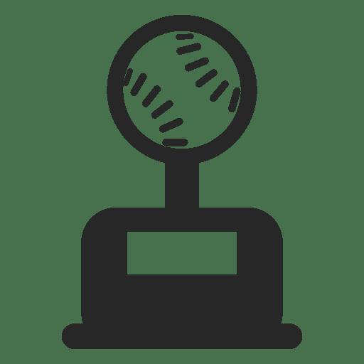 Trofeo de béisbol Transparent PNG