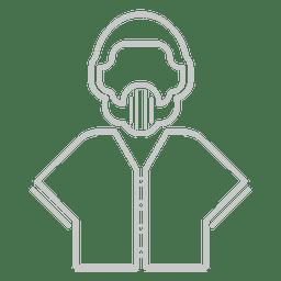 Icono de uniforme de beisbol