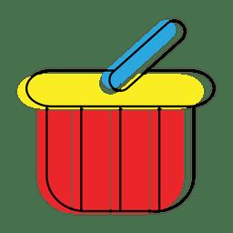 Icono de cesta o carrito