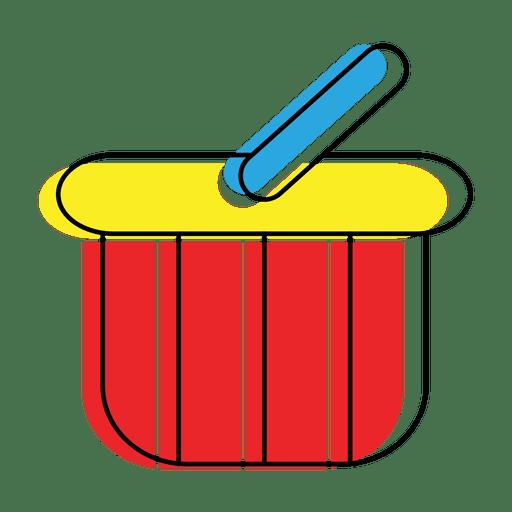 Icono de cesta o carro