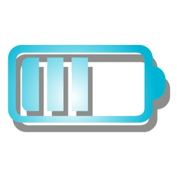 Gradient battery icon