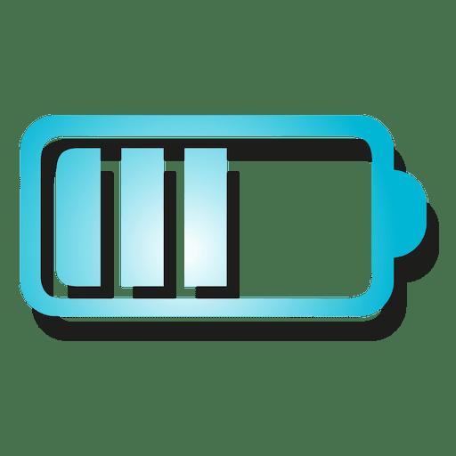 Icono de batería degradado