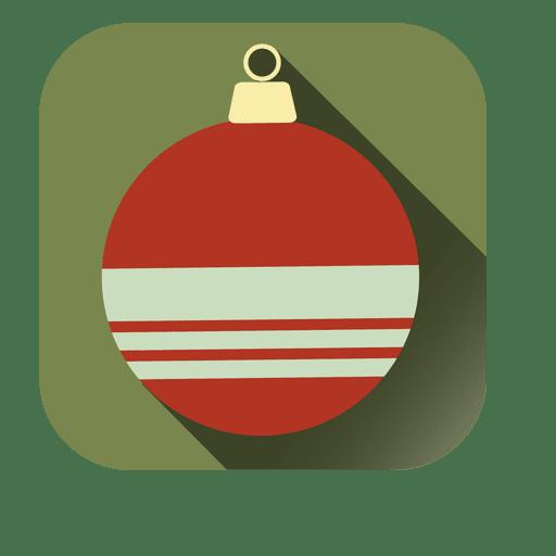 Bauble square icon