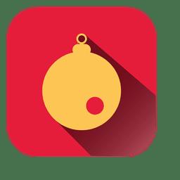 Bauble square icon 1