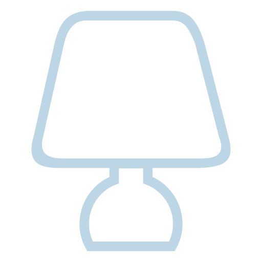 Bedroom Lamp Line Icon Transparent Png Svg Vector