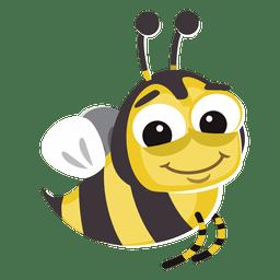 Bug de desenhos animados de abelha