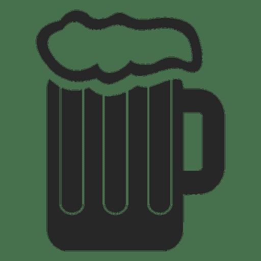 Beer mug icon Transparent PNG