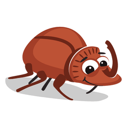 Beetle cartoon