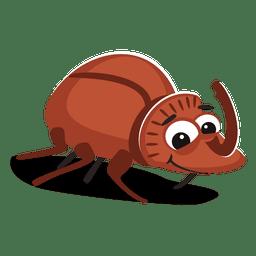 Käfer-Cartoon
