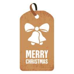 Bells christmas tag