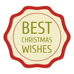 Best christmas wish label
