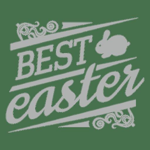 Best easter chalk label Transparent PNG