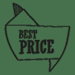 Sello de mejor precio