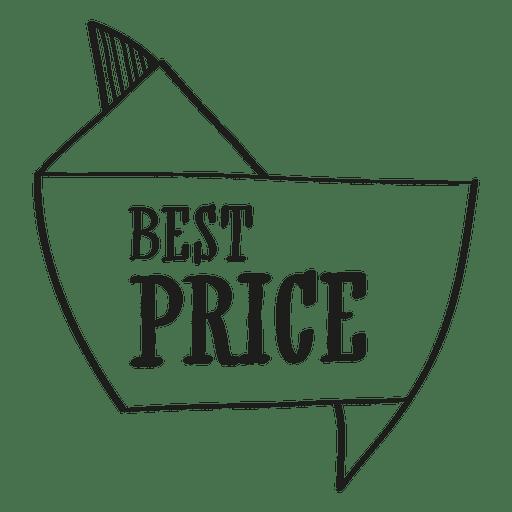Sello de mejor precio Transparent PNG