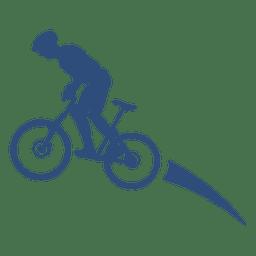 Transporte de movimento de bicicleta