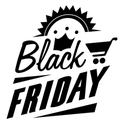 Black friday badge