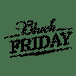 Schwarzer Freitag-Label