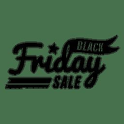 Distintivo de venda sexta-feira preta