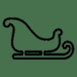 Blank sliegh icon