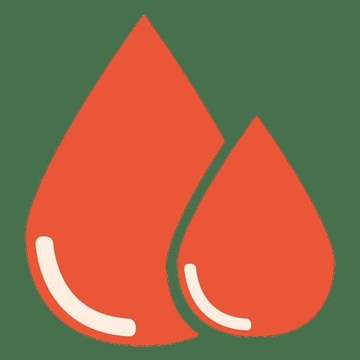 Blood drops icon Transparent PNG