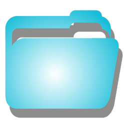 Blue file icon