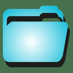 Icono de archivo azul