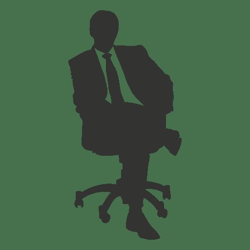 Business executive sitting 1