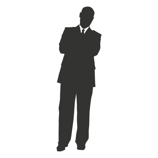 Business executive standing