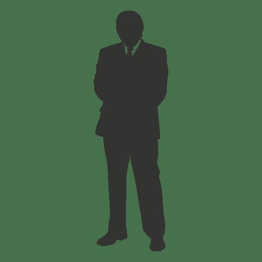 Executivo de negócios em pé 1 Transparent PNG