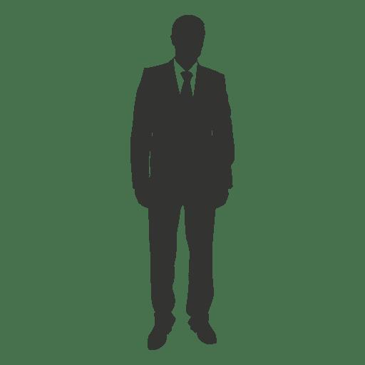 Business executive standing 2 Transparent PNG
