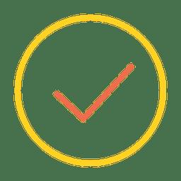 Button check icon