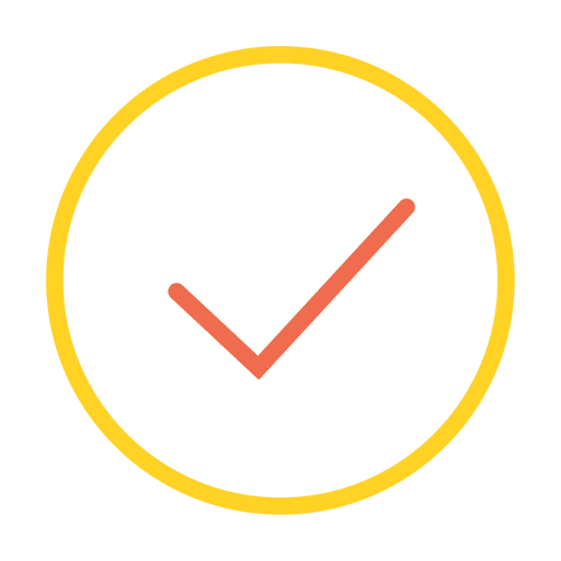 Button check icon Transparent PNG