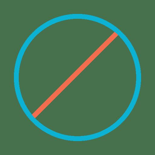 Botão colorido ícone fechar Transparent PNG