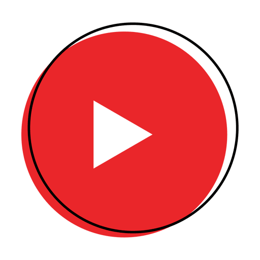 Button play icon Transparent PNG
