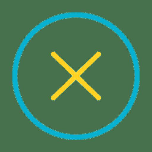 Button stop close icon - Transparent PNG & SVG vector