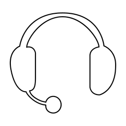 Icono de llamada simple