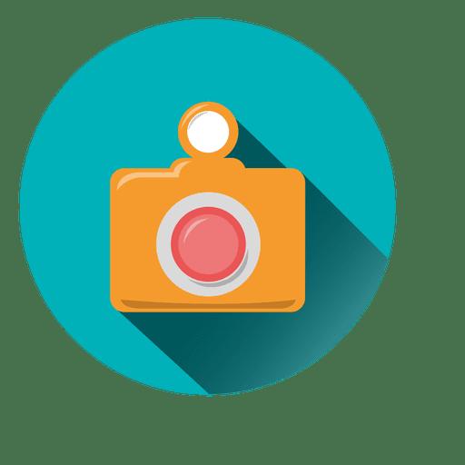 Icono de circulo de camara Transparent PNG